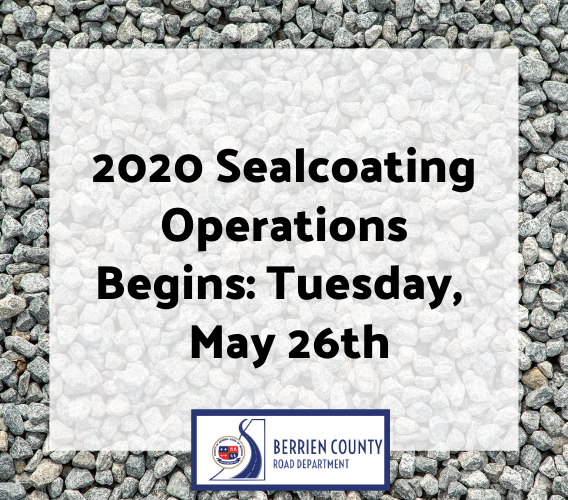 Newsflash 2020 Sealcoating Operations Begin