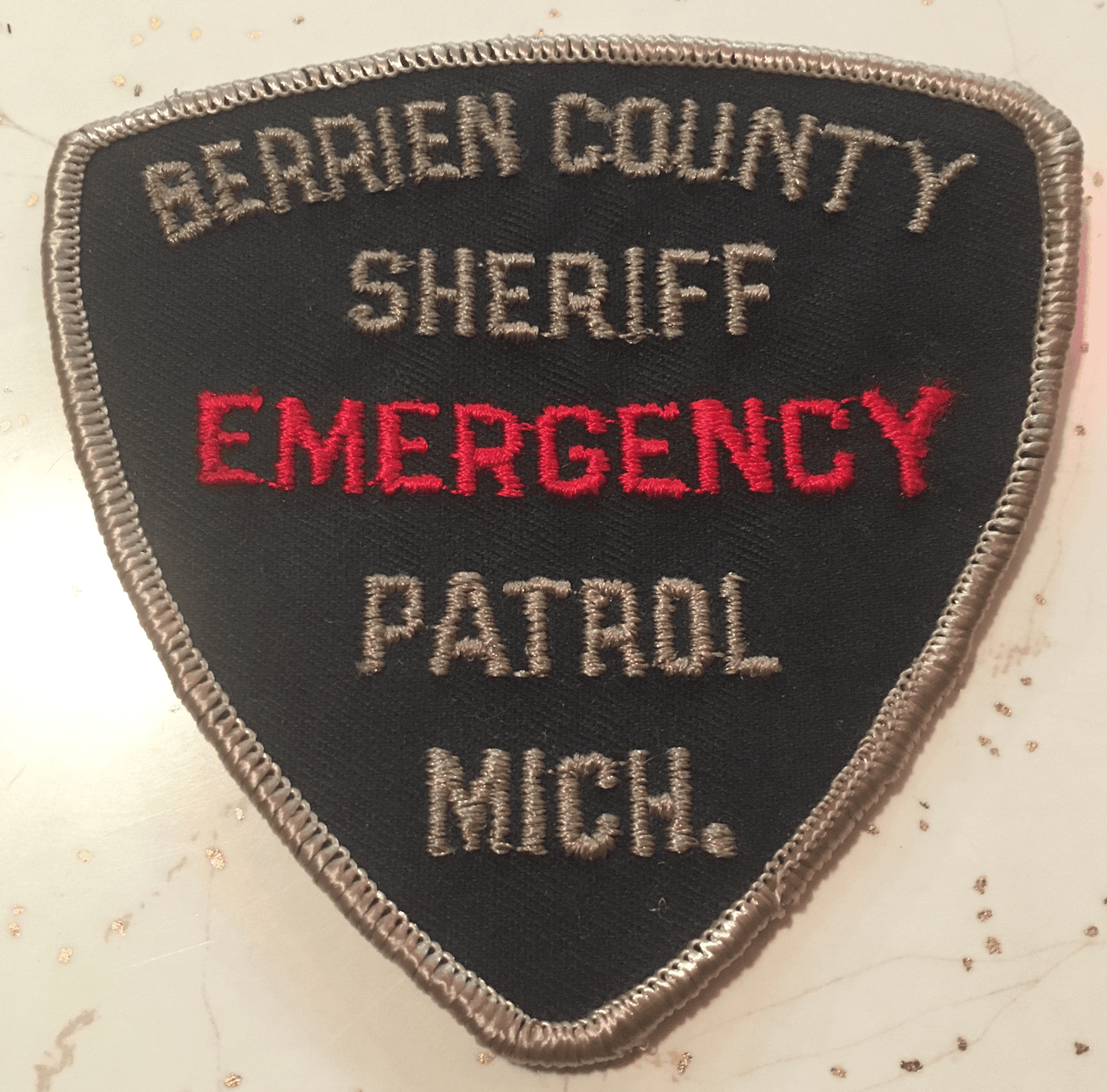 Police Emergency Patch Image