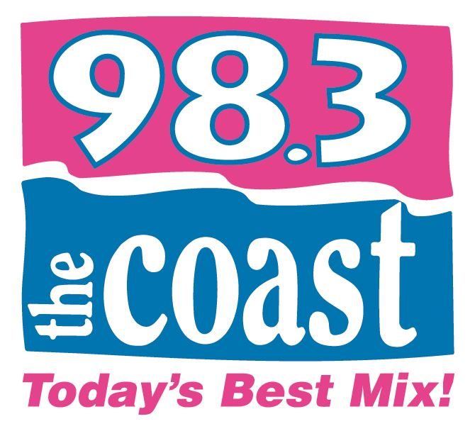 98.3 the Coast Logo