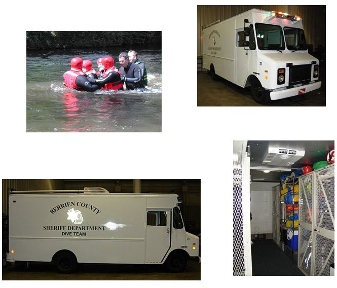 Dive Team Photo Collage