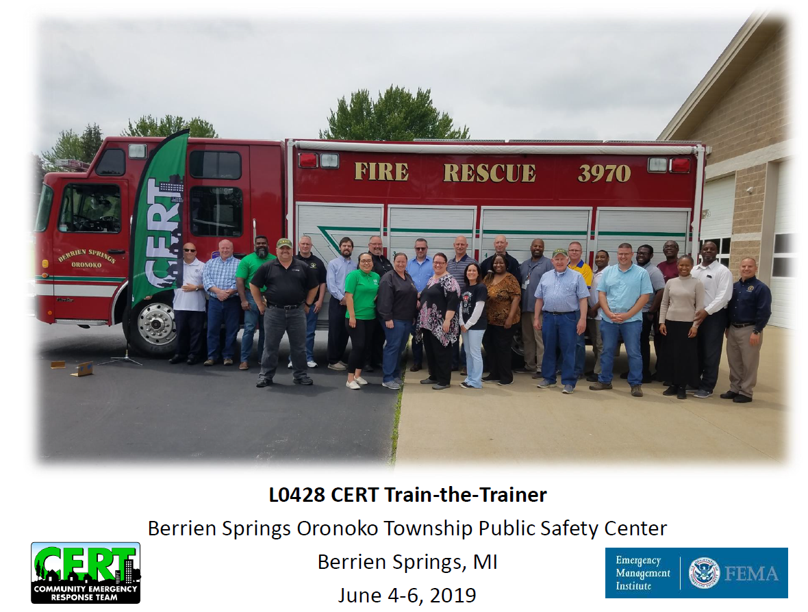 06 2019 CERT Instructor Course